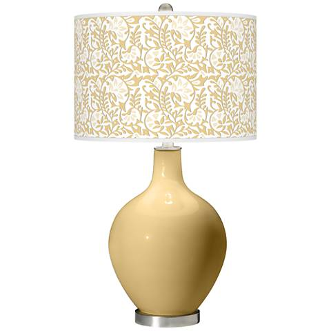 Humble Gold Gardenia Ovo Table Lamp