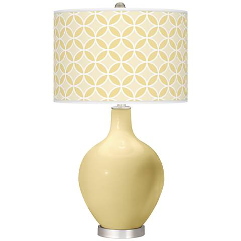 Butter Up Circle Rings Ovo Table Lamp