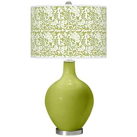 Parakeet Gardenia Ovo Table Lamp
