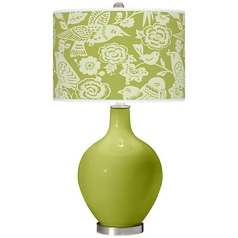 Parakeet Aviary Ovo Table Lamp