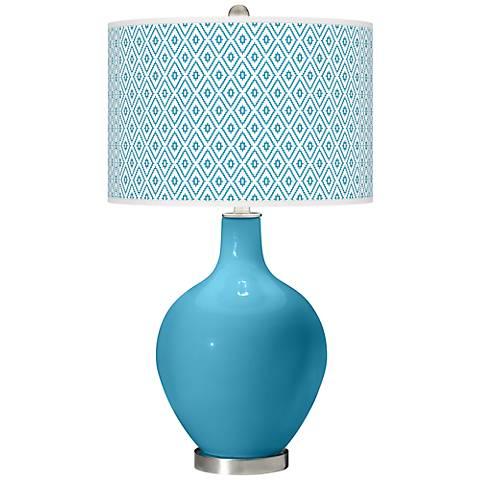 Jamaica Bay Diamonds Ovo Table Lamp