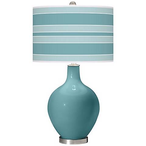 Reflecting Pool Bold Stripe Ovo Table Lamp