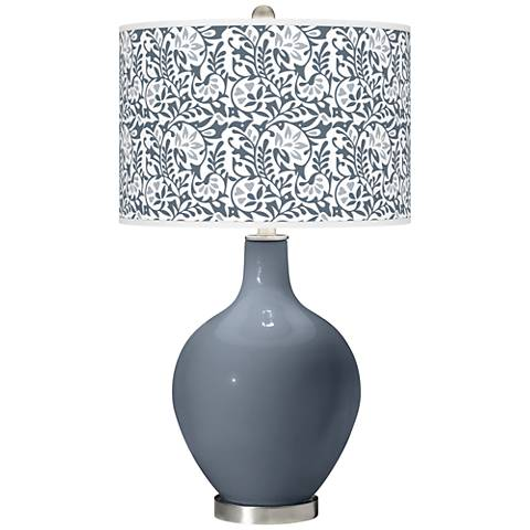 Granite Peak Gardenia Ovo Table Lamp