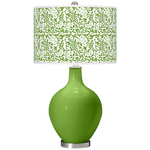 Rosemary Green Gardenia Ovo Table Lamp