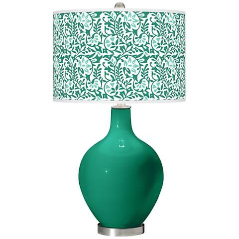 Leaf Gardenia Ovo Table Lamp