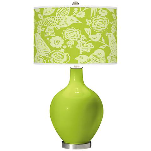 Tender Shoots Aviary Ovo Table Lamp