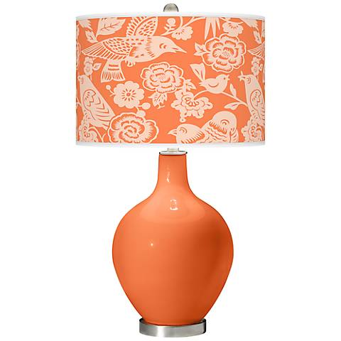 Nectarine Aviary Ovo Table Lamp