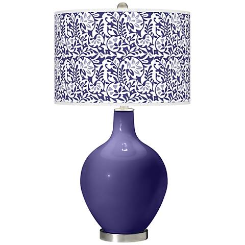 Valiant Violet Gardenia Ovo Table Lamp