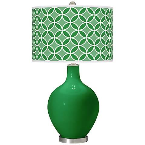 Envy Circle Rings Ovo Table Lamp