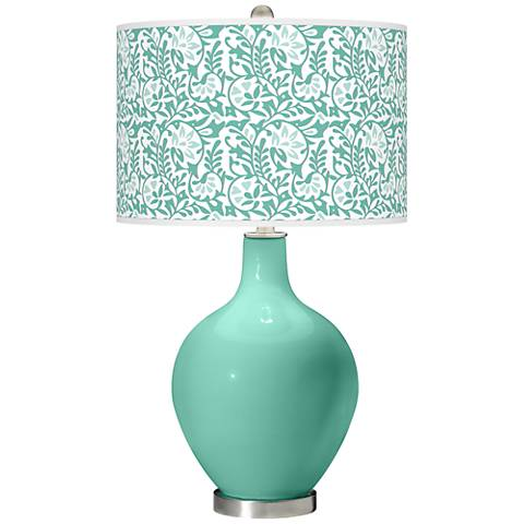 Larchmere Gardenia Ovo Table Lamp
