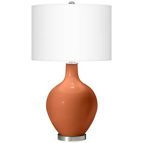 Robust Orange Ovo Table Lamp