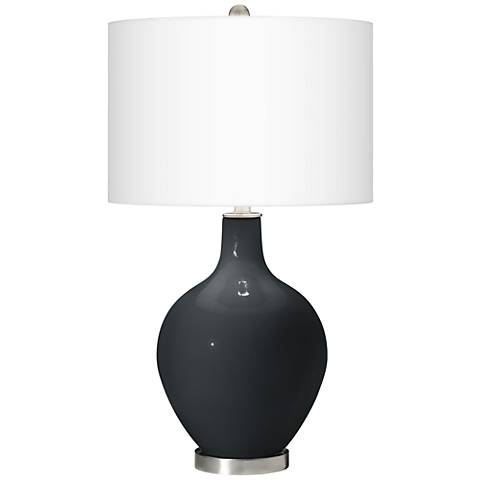 Black of Night Ovo Table Lamp