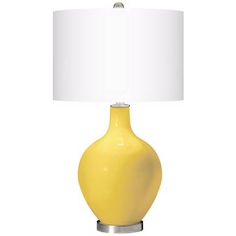 Lemon Zest Ovo Table Lamp