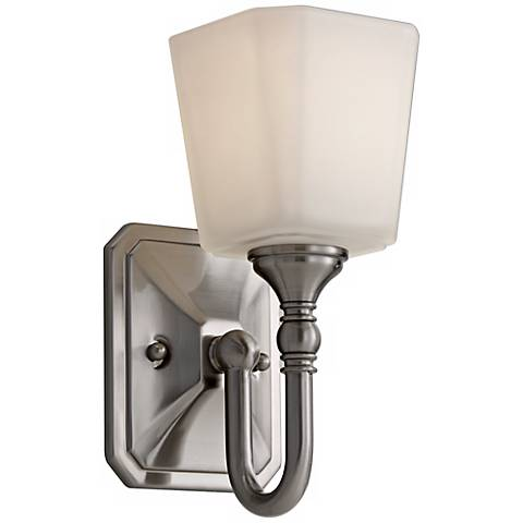"Feiss Concord 10 1/4"" High Steel Wall Sconce"