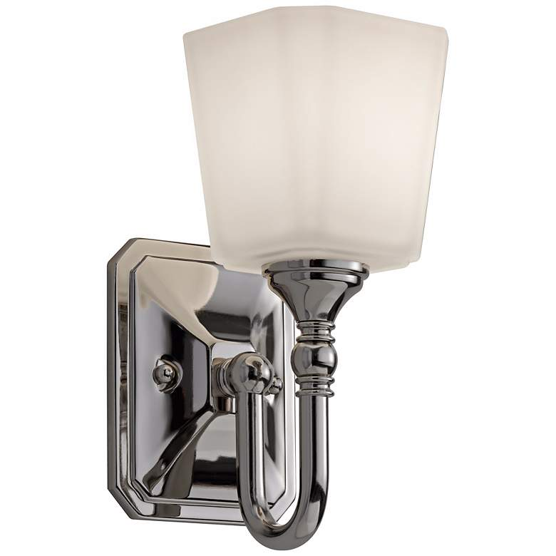 """Feiss Concord 10 1/4"""" High Nickel Wall Sconce"""