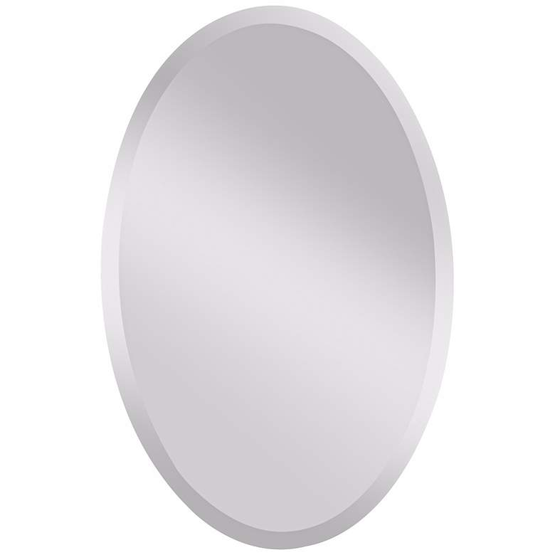 """Feiss Infinity Oval 36"""" High Wall Mirror"""