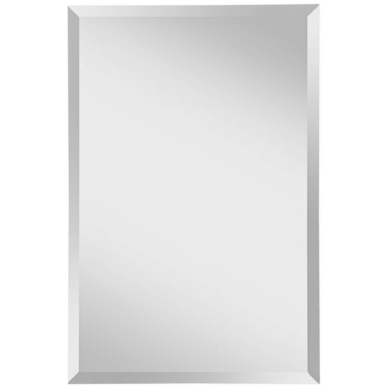 "Feiss Infinity 24"" x 36""  Frameless Wall Mirror"