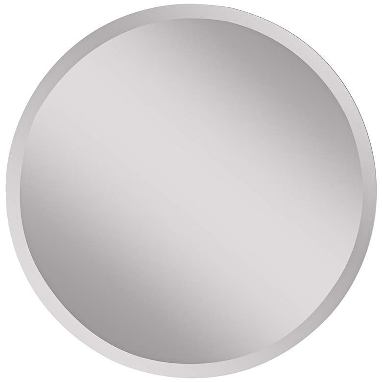 """Feiss Infinity 30"""" Wide Round Wall Mirror"""