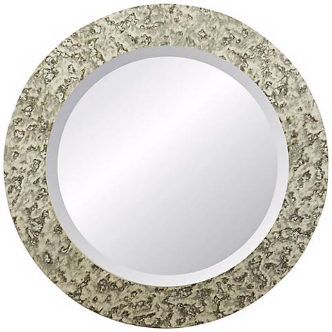 "Dijon Cabriolet 30"" Round Wall Mirror"
