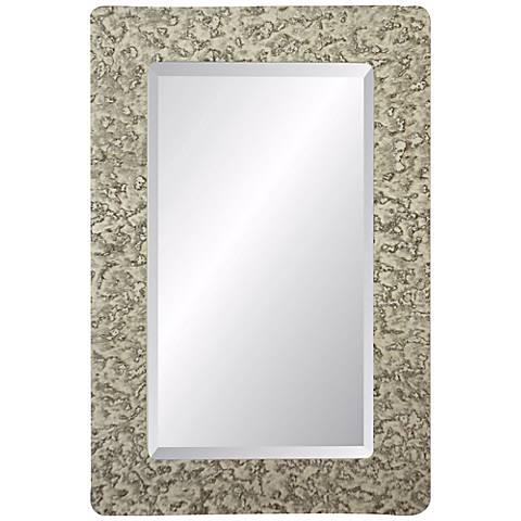 "Dijon Castleton 36"" High Rectangular Wall Mirror"
