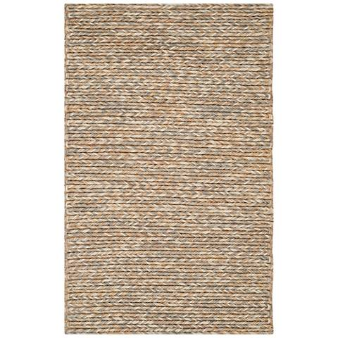Manhattan Collection MAN422A 5'x8' Braided Area Rug