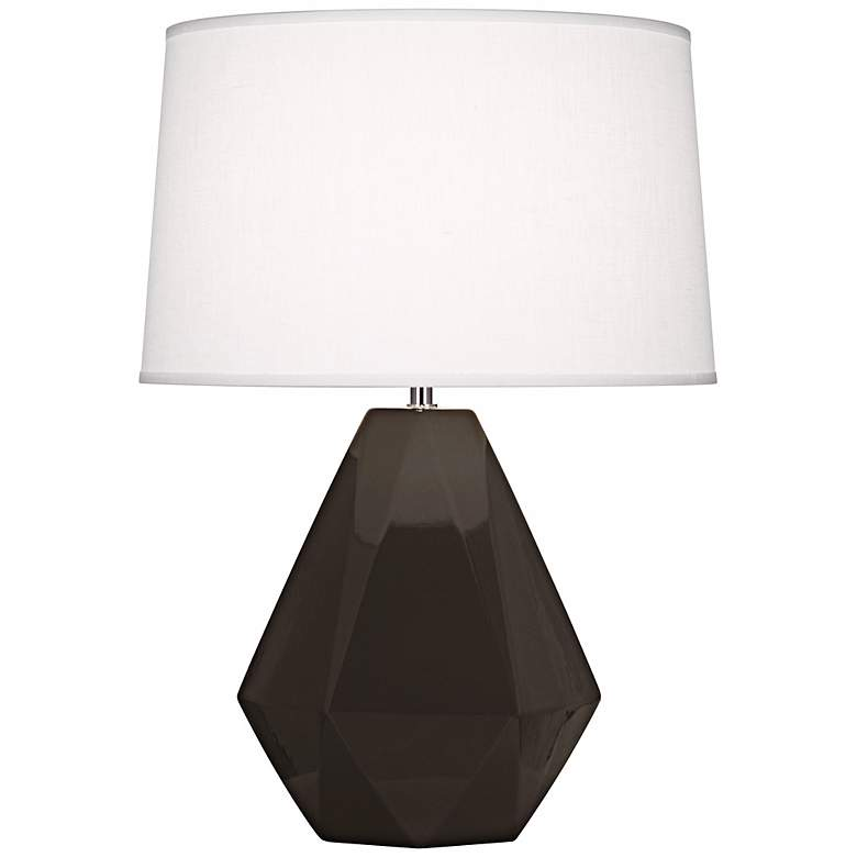 "Robert Abbey Delta Coffee 22 1/2"" High Table Lamp"