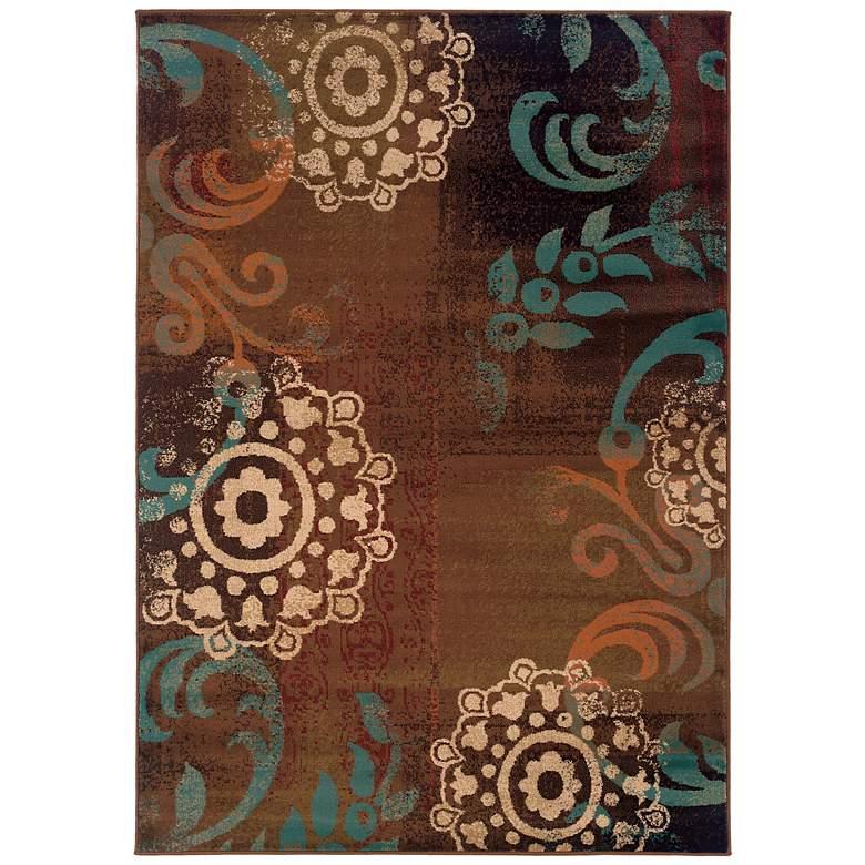 "Oriental Weavers Emerson 2822A 5'x7'6"" Multi Area Rug"