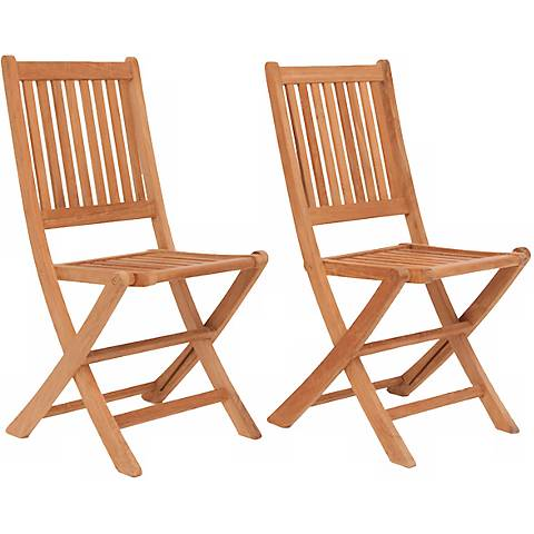 Teak Isleworth Outdoor Folding Chair