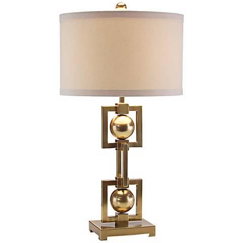 John Richard Brass Table Lamp