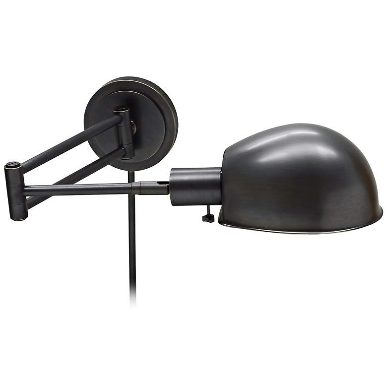 House of Troy Addison Bronze Swing Arm Wall Lamp