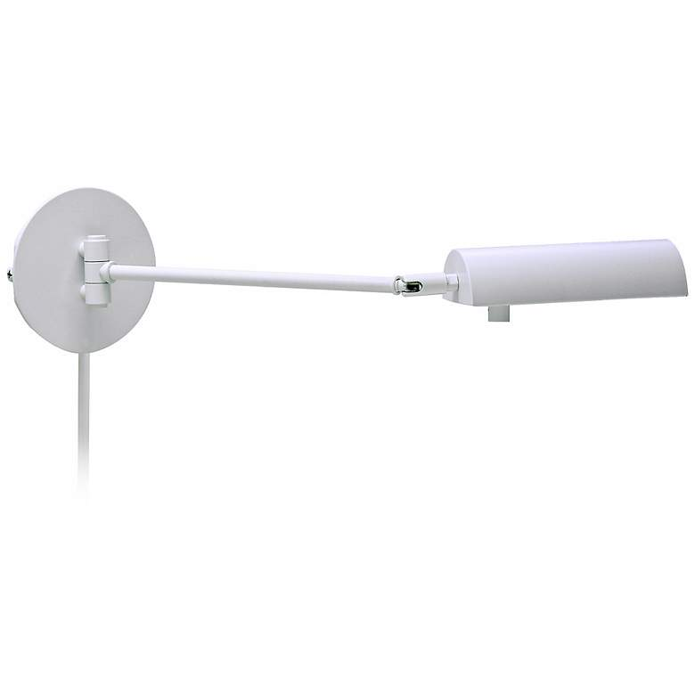 House of Troy Generation White Swing Arm Wall Lamp