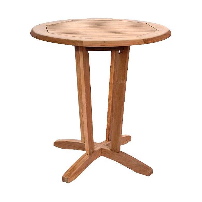 Teak Flodden Outdoor Round Table
