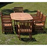 Forli Deluxe Grand 9-Piece Patio Dining Set