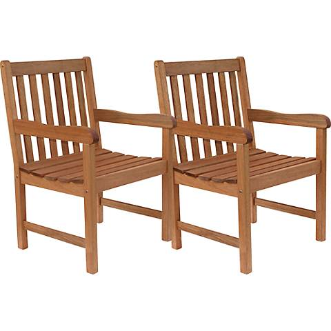 Forli Eucalyptus 5-Piece Patio Seating Set