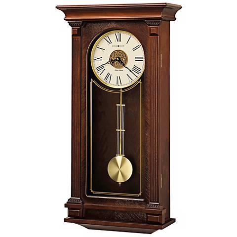 "Howard Miller Sinclair 26 3/4"" Chiming Wall Clock"