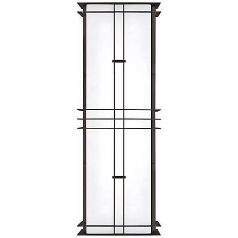 """LBL Modular Industrial 28 1/4"""" Bronze Outdoor Wall Light"""