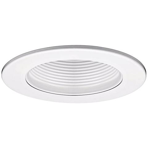 "WAC 5"" White Baffle Recessed Light Trim"