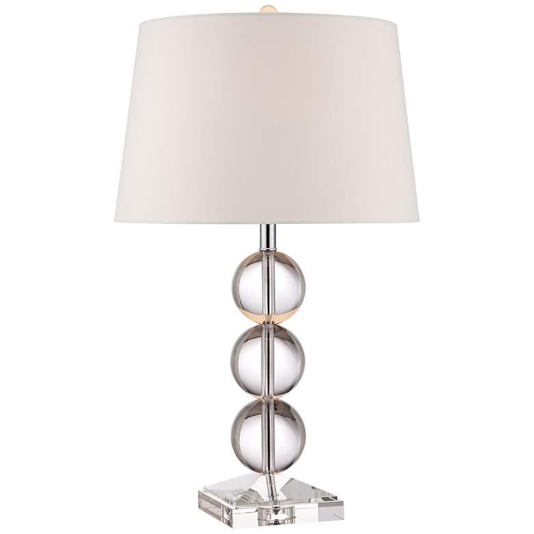 Mersenne Crystal Globe Table Lamp by 360 Lighting