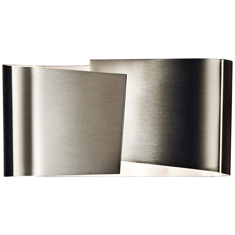 "Holtkoetter Filia 4"" High Stainless Steel Wall Sconce"