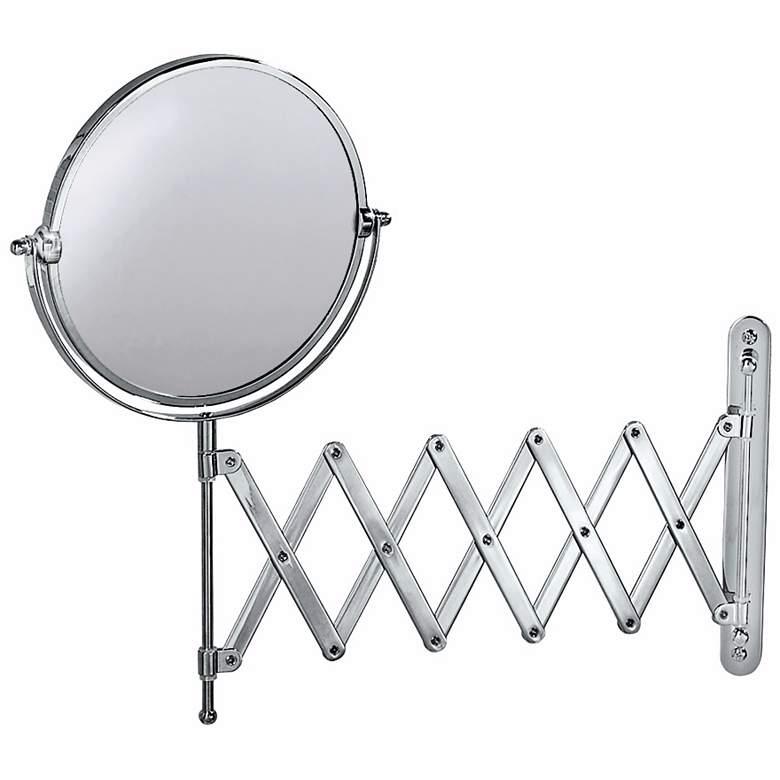 Gatco Chrome Swivel Accordion Wall Mirror