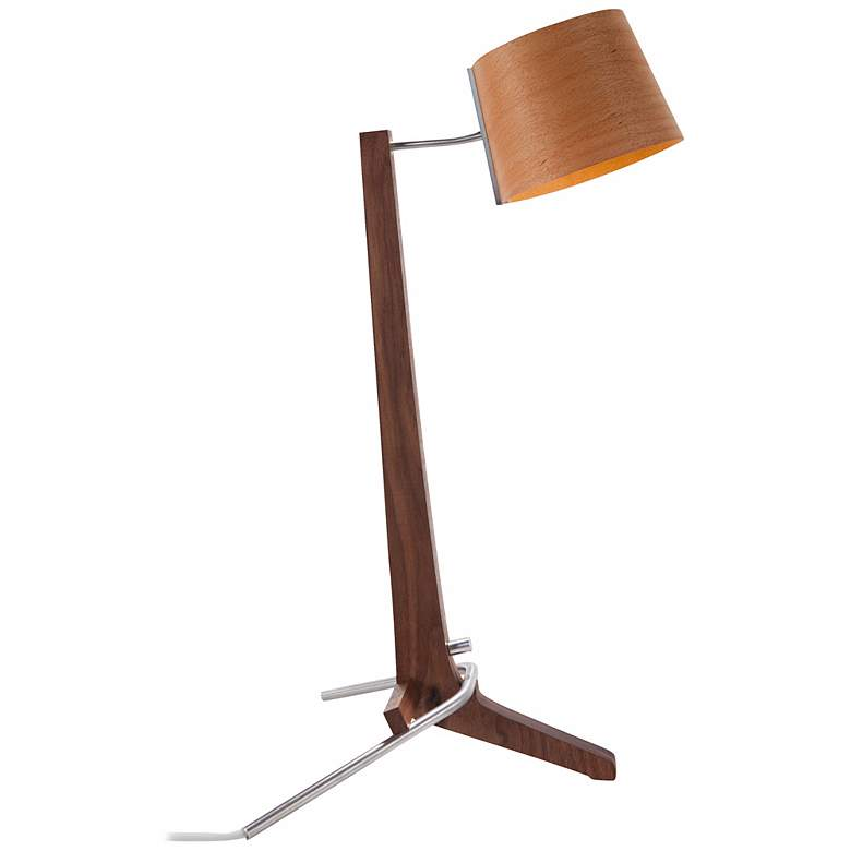 Cerno Silva Oiled Walnut and Beech LED Desk Lamp