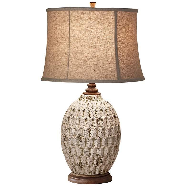 Feiss Antica Ceramica Ceramic Table Lamp