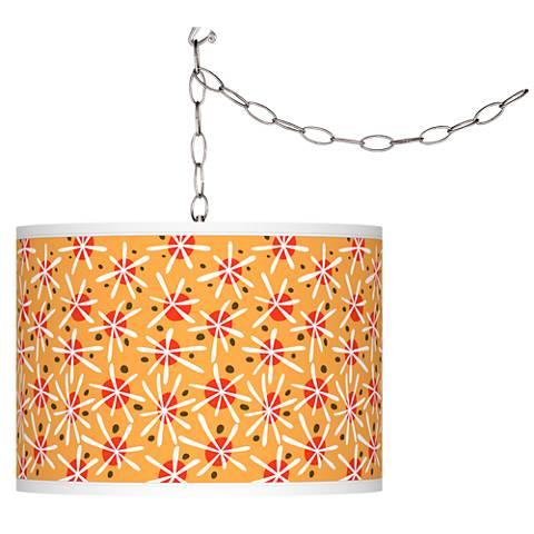 Seastar Giclee Glow Plug-In Swag Pendant