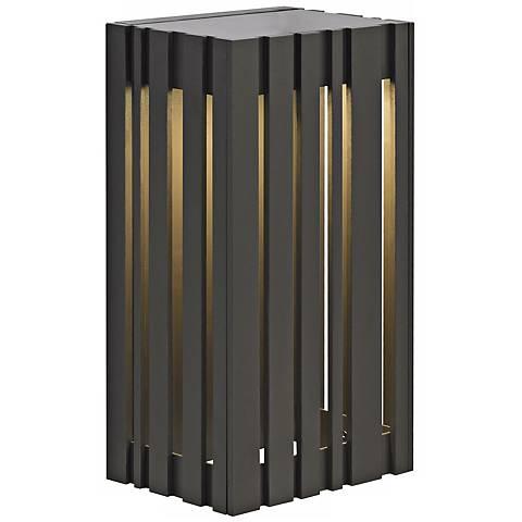 "LBL Uptown 12 3/4"" Bronze LED Outdoor Wall Light"