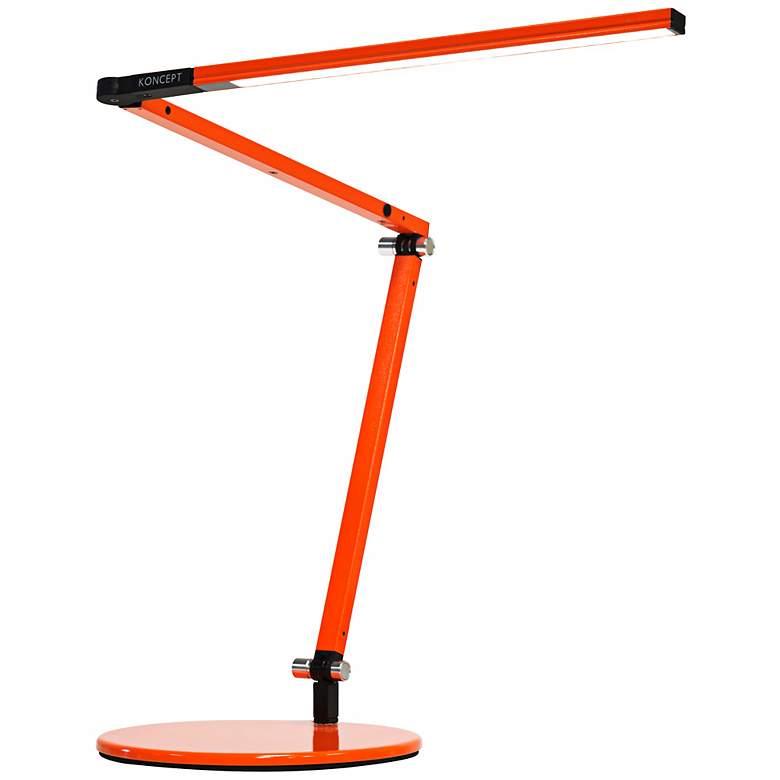Gen 3 Z-Bar Mini Warm LED Orange Desk Lamp with Touch Dimmer