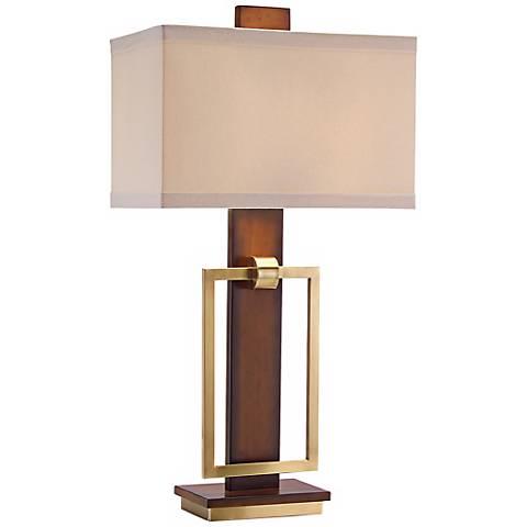 John Richard Mixed Media Table Lamp