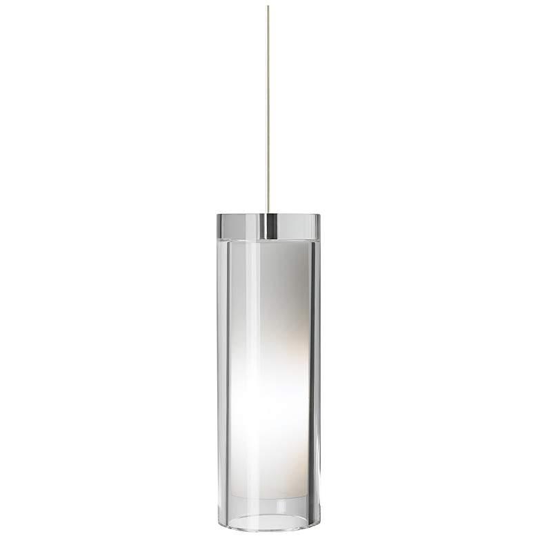 "Tech Lighting Sara Grande 3 3/4"" Wide Nickel Mini Pendant"