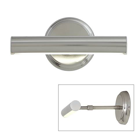 "Artista 9 1/2"" Wide Brushed Nickel LED Picture Light"
