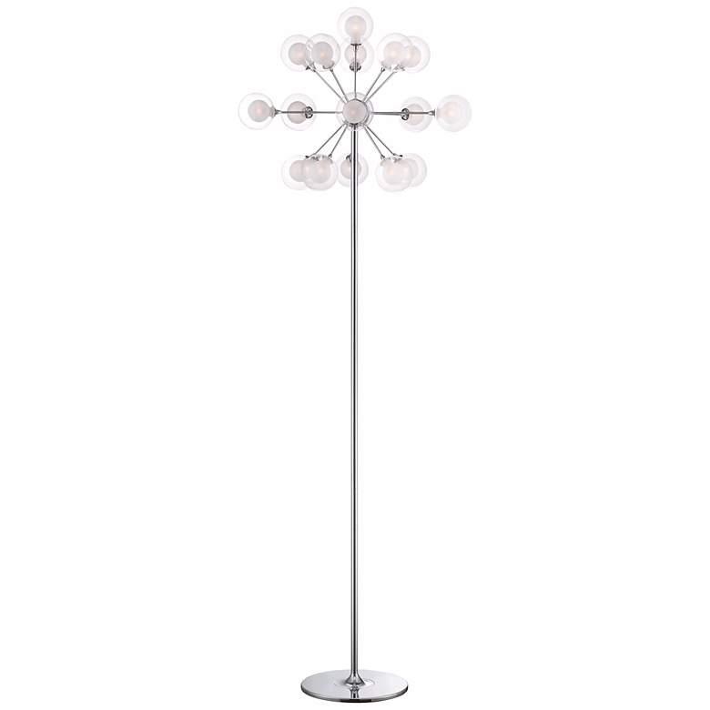 Possini Euro Design Sputnik Style 16-Light Floor Lamp