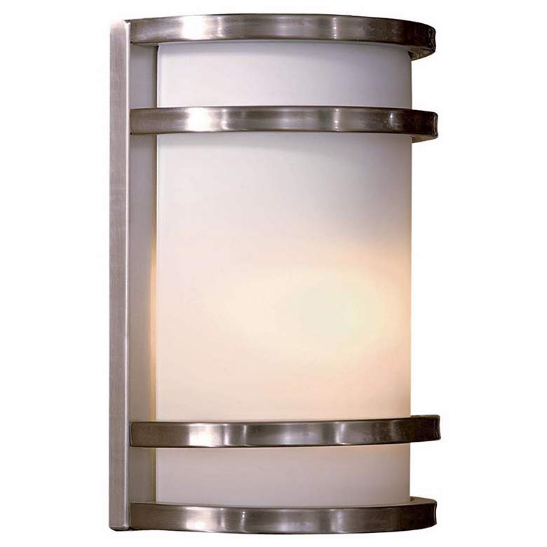 "Bay View Stainless 9 1/2"" Outdoor Light"